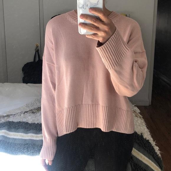 b1f7f6fb0f Everlane Sweaters | Square Cotton Crew Sweater | Poshmark